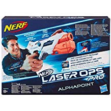 """On a testé les pistolets Nerf sans fléchettes, """"Laser Ops"""